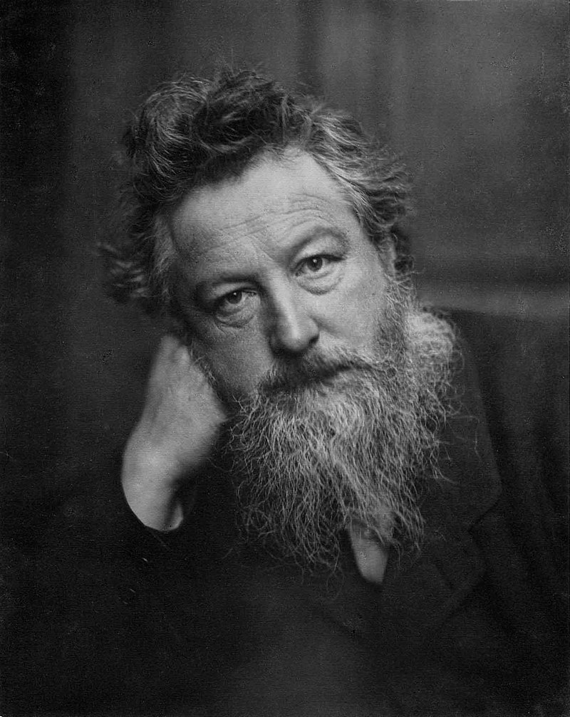 portrait of William Morris
